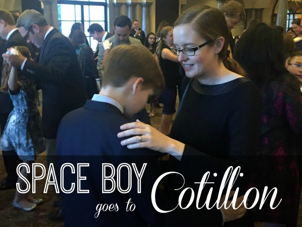 Space Boy Goes to Cotillion | Alamo City Moms Blog