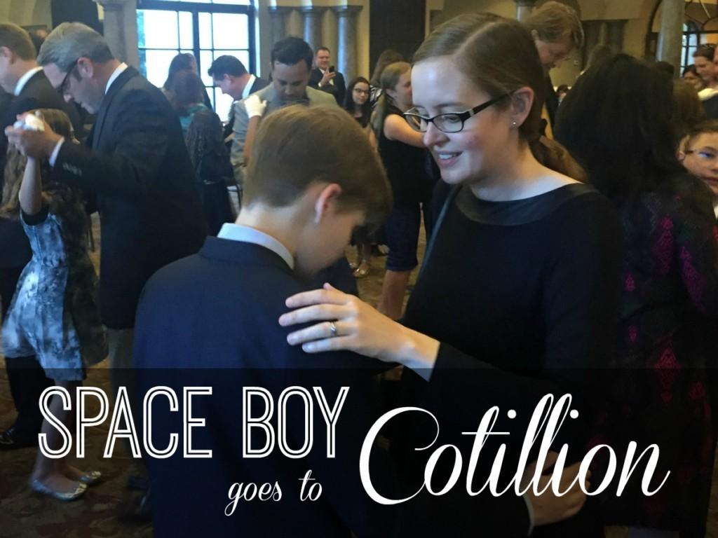 Space Boy Goes to Cotillion | Alamo City Moms Blog