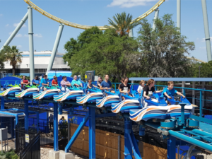 Wave Breaker: The Rescue Coaster at SeaWorld San Antonio | Alamo City Moms Blog