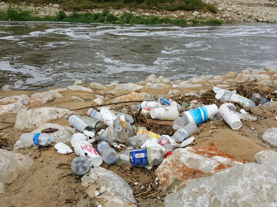 Remember the River! Trash gets swept into our waterways, which is why Alamo City Moms Blog has adopted a spot to clean up