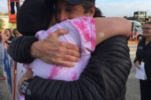 Patrick Dempsey couldn't have been more gracious and caring for those who use the center.