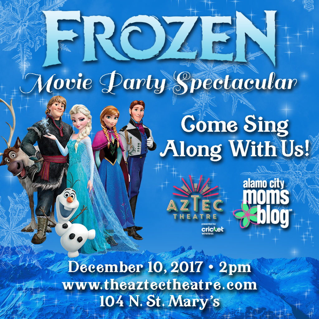 Frozen movie party spectacular with acmb and the aztec theatre voltagebd Gallery