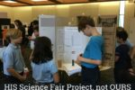 HIS science fair project, not OURS | Alamo City Moms Blog