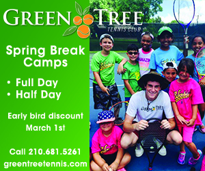 Spring Break Sidebar - Green Tree