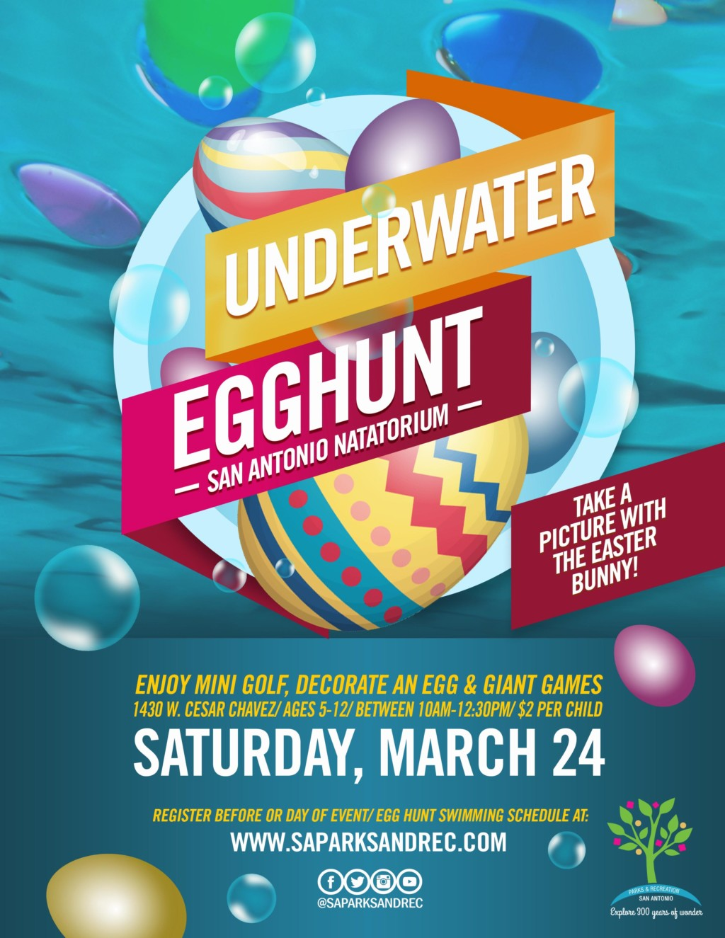 A Hunting We Will Go: Egg Hunts and Spring Events in San Antonio