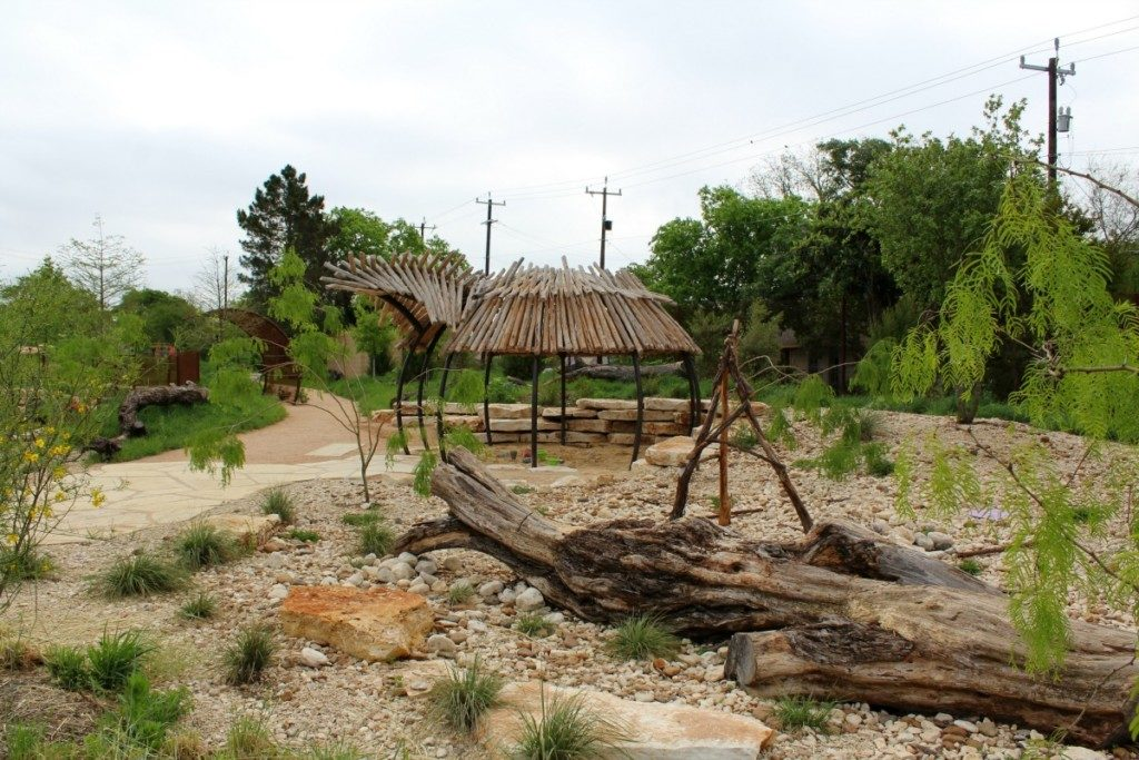 Dry Rock Creek at the Family Adventure Garden at the San Antonio Botanical Garden | Alamo City Moms Blog