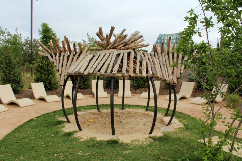 Big Onion at the Family Adventure Garden at the San Antonio Botanical Garden | Alamo City Moms Blog
