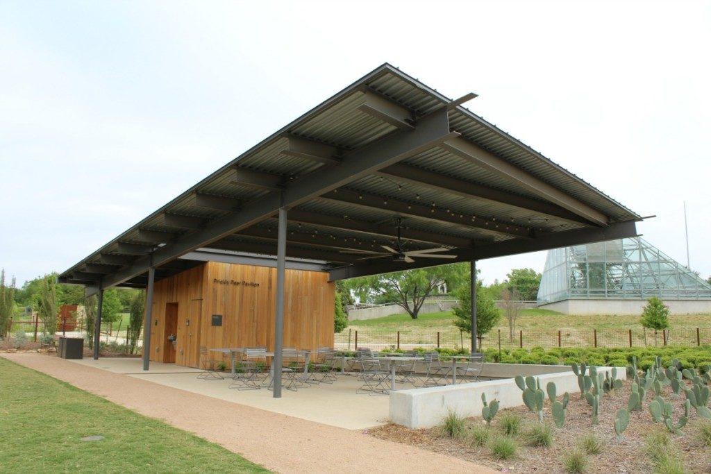Prickly Pear Pavilion at the Family Adventure Garden at the San Antonio Botanical Garden | Alamo City Moms Blog