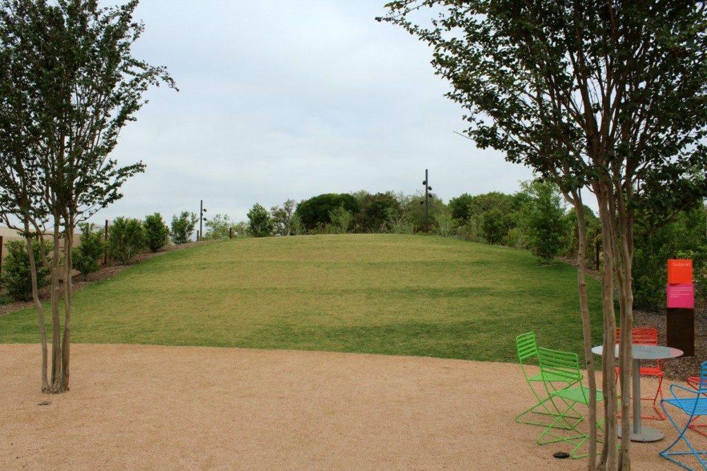Tumble Hill at the Family Adventure Garden at the San Antonio Botanical Garden | Alamo City Moms Blog