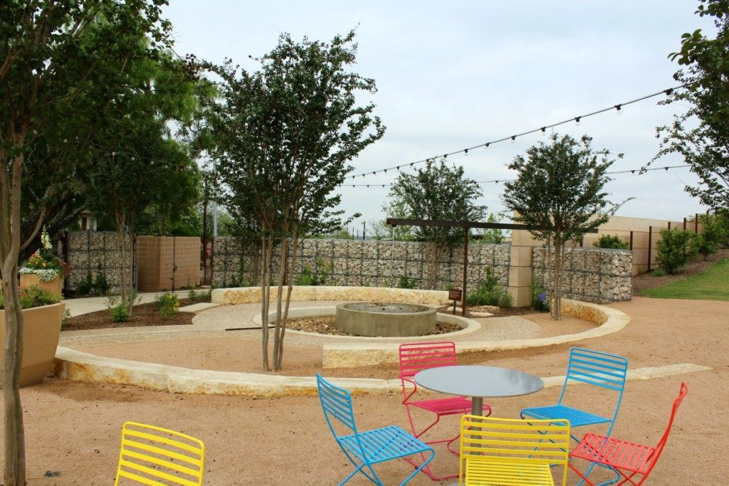Watering Hole at the Family Adventure Garden at the San Antonio Botanical Garden | Alamo City Moms Blog