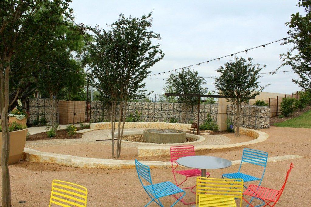 Watering Hole at the Family Adventure Garden at the San Antonio Botanical Garden | Alamo City Moms Blog