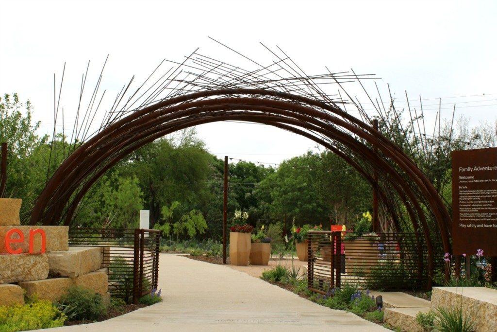 Gate to Family Adventure Garden at the San Antonio Botanical Garden | Alamo City Moms Blog
