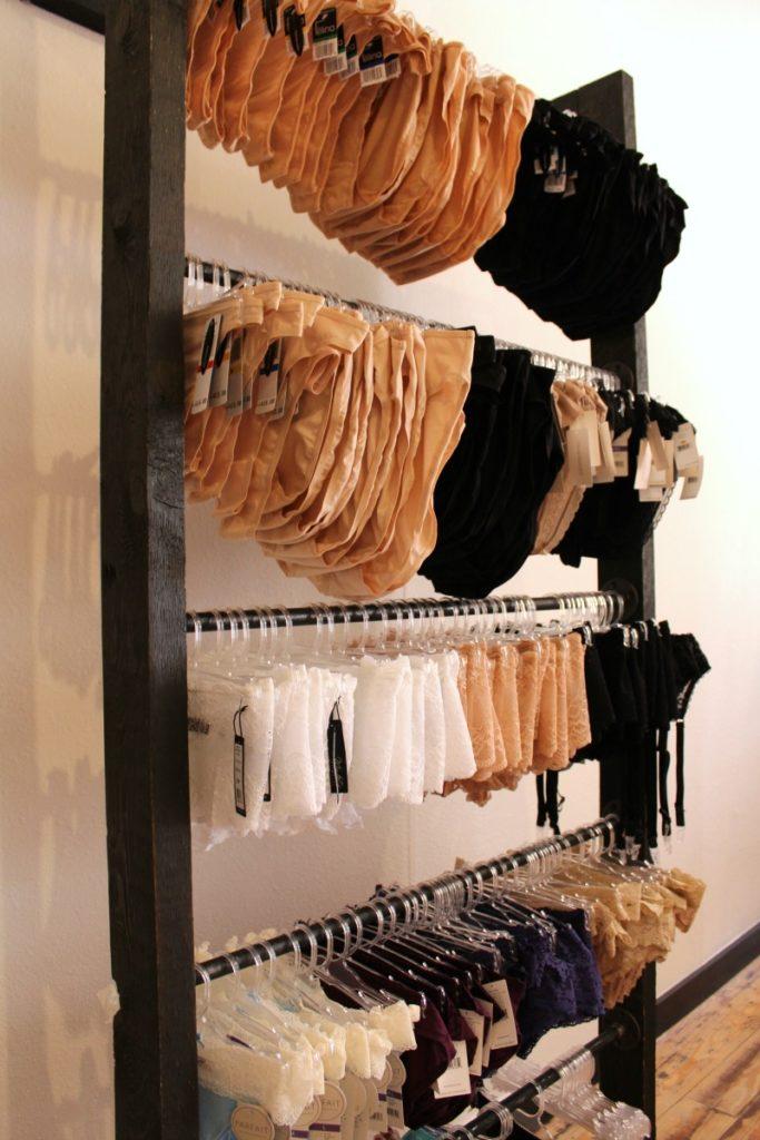 Panties at the Bra Chick San Antonio store | Alamo City Moms Blog