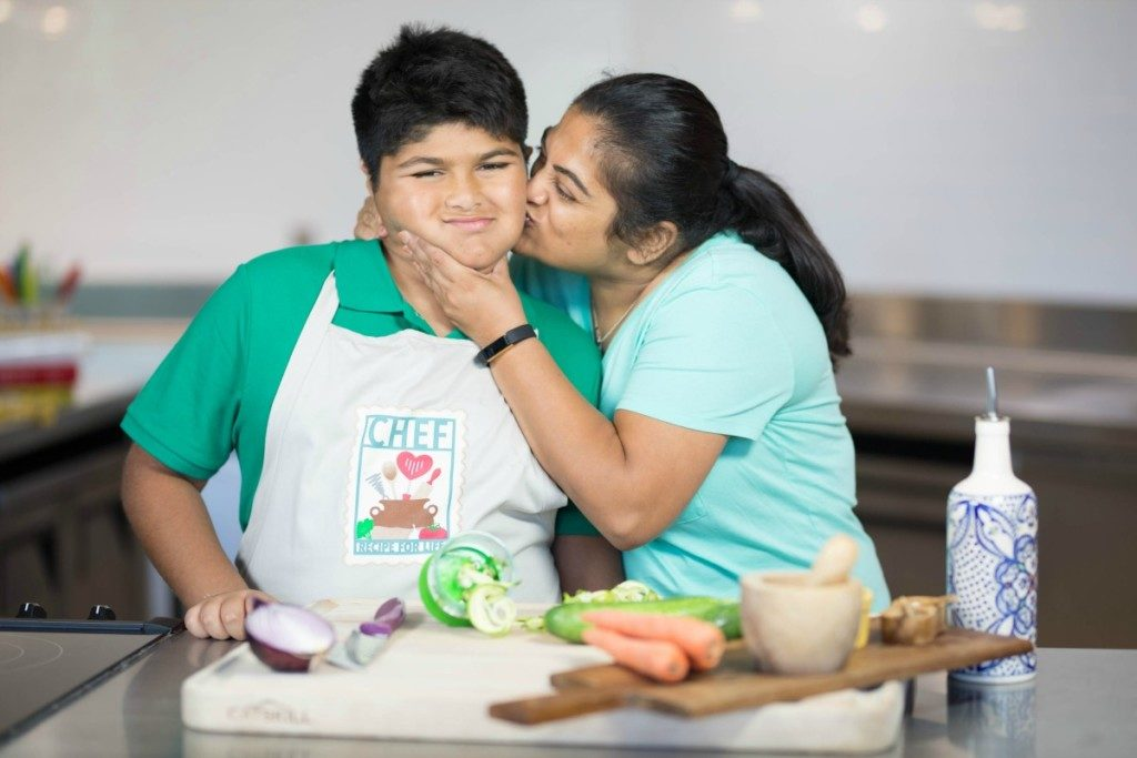 Cooking class with CHEF Culinary Health Education for Families | Alamo City Moms Blog