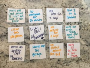 Consequence And Confidence Jars Helping My Kids Make Better Behavioral Choices