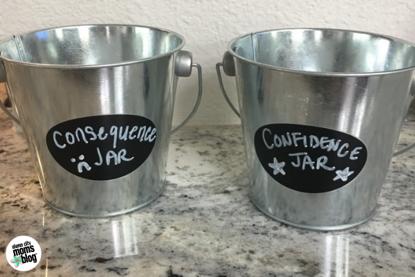 consequence jar confidence jar