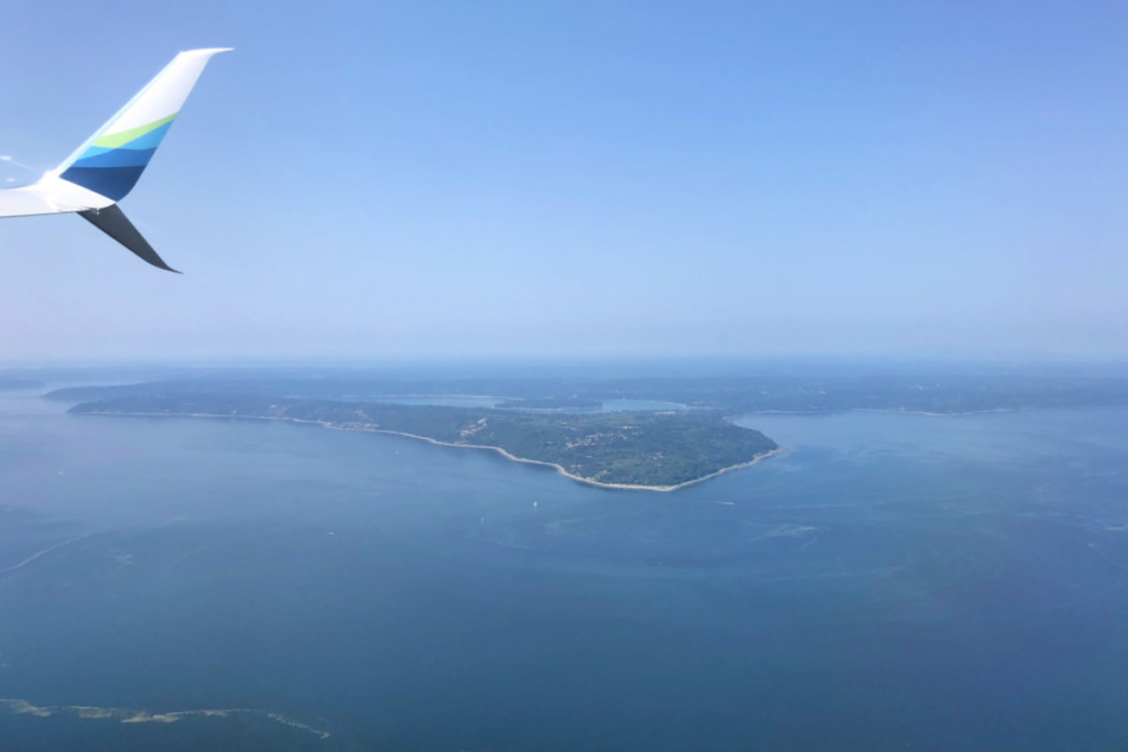 Aerial view of Puget Sound in Washington, USA | Alamo City Moms Blog
