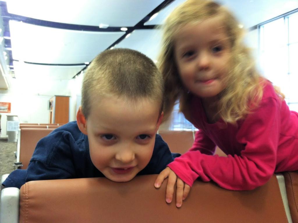 Kids at the San Antonio International Airport | Alamo City Moms Blog