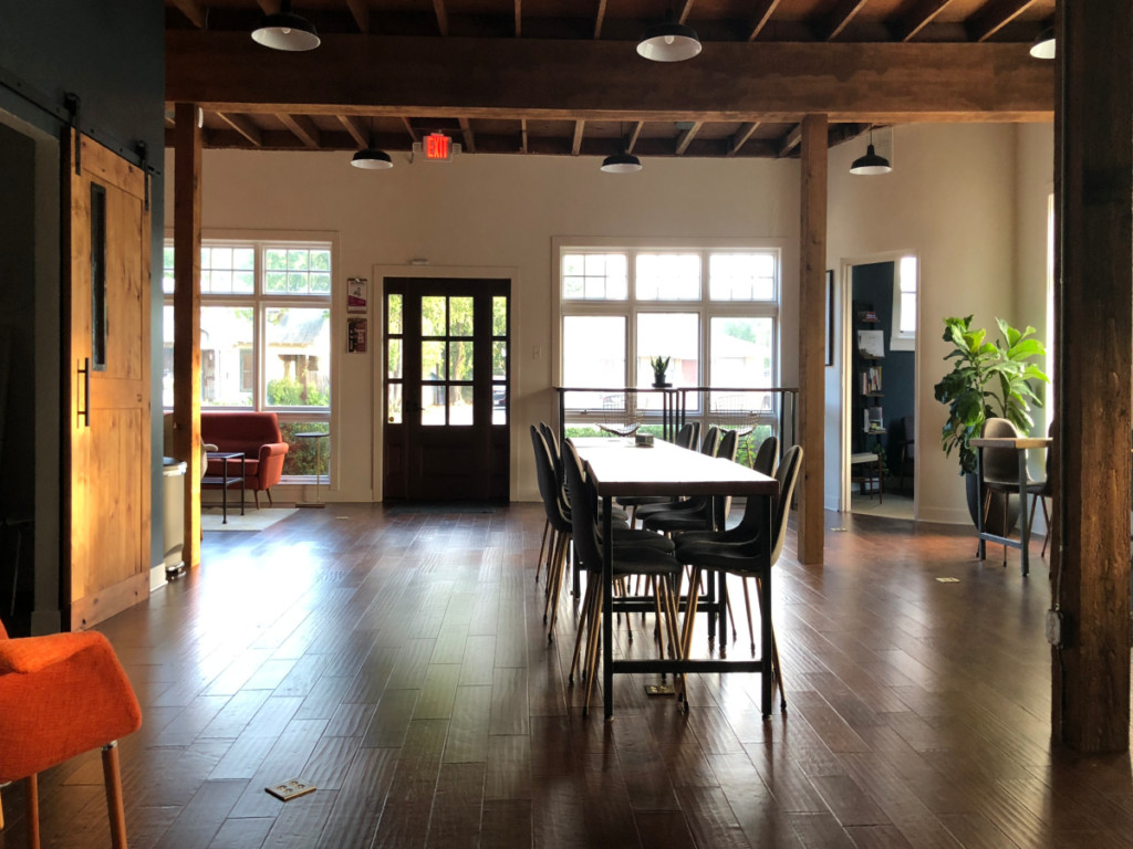 Open coworking space at The Impact Guild | Alamo City Moms Blog