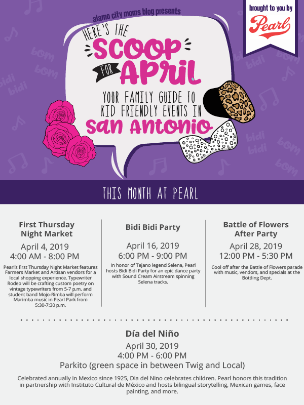 775f27ae San Antonio Scoop: A Guide to Family-Friendly Events in April