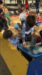 Sandboxes at Orsinger Park