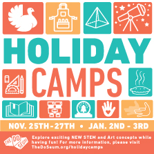 DoSeum - 2019 Holiday Camp - Guide Listing
