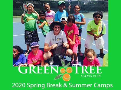 Spring Break Camp 2020 - Green Tree Sports & Tennis Camps