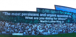 MLK Jr mural in San Antonio
