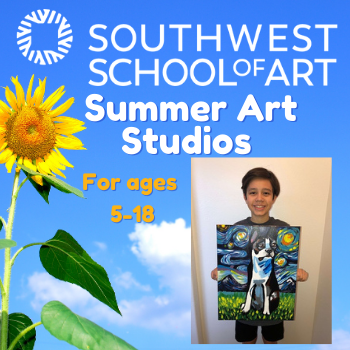 Southwest School of Art Summer Camp 2021