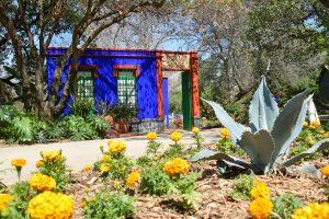 Frida Kahlo exhibit at the botanical garden